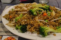 Veggie Fried Rice (Vegan) (Vegan Butterfly) Tags: vegetarian vegan food yummy tasty delicious veggies vegetables broccoli carrots fried rice bean sprouts