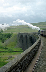 97 45407 & 45231 on Ribblehead Viaduct IMGP4463 (Clementinos2009) Tags: 2008peterandnicks1t57weekendpart31t57 45407thelancashirefusilier 45231 ribbleheadviaduct
