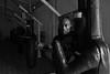Portrait de John Dovi, Entraineur de l'équipe de France de Boxe masculine (johann walter bantz) Tags: sportsphotography sportler sports boxeanglaise documentary documentaire portrait blackwhite monochrome boxer ring boxing boxe equipedefrancedeboxe entraîner trainer johndovi