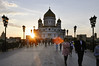 Moscow afternoons (marin.tomic) Tags: moscow moskau russia russland city cathedral church sunset sun travel nikon d90 traveler summer holiday vacation bridge