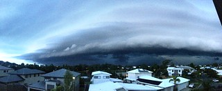 Another Powerful Thunderstorm cell on the horizon, Gold Coast, QLD, Aus