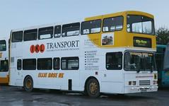 Ellie Rose Travel UK, Saltend, Hull UYH 375 at the depot. (Gobbiner) Tags: olympian alexander ellieroseuk uyh375 volvo stagecoach hull 16604 devongeneral r904jdv