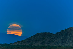 Wolf Moon Super Moon (Carl Cohen_Pics) Tags: chandler arizona unitedstates supermoon santanmountain sacaton mountain nightsky nightphotography night naturephotography nubes nature canon clouds canon7dmarkii sigmaapo150500mmf563apodgoshsm winter newyear2018