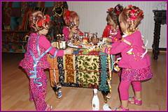 Das war unsere Silvesterparty 2017 ... (Kindergartenkinder) Tags: silvester kindergartenkinder annette himstedt dolls tivi annemoni milina sanrike personen
