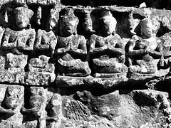 Temples de Banteay Kdey, Siem Reap, Cambodge, décembre 2017. Banteay Kdey temples, Siem Reap, Cambodia, December 17. (vdareau) Tags: prasat noiretblanc blackandwhite templesd'angkor angkortemples sculpture angkor siemreap cambodge cambodia asiedusudest southeastasia asia asie
