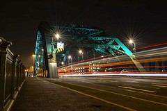 365 day photo challenge Wearmouth Bridge build 1928. I thought I would give the kit lens a chance with this one and it didn't disappoint ! (Mark240590) Tags: photo busy city art kitlens lighttrails lighttrauls bridge nikon 1855
