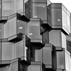 Building Abstract #85 (Joseph Pearson Images) Tags: building architecture abstract london sturgisassociates nexusplace blackandwhite bw mono square