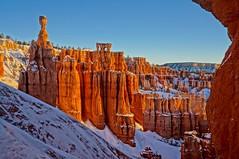 Bryce Canyon NP (Kramskorner) Tags: bryce canyon national park hoodoo sunrise winter snow red rock wanderlust hiking exploring sony alpha utah