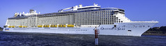 Ovation of the Seas - Royal Caribbean International (Paul Leader - All Rights Reserved) Tags: cruiseship ovationoftheseas panorama royalcaribbeaninternational sydney olympus paulleader ship boat vessel holiday cruise nsw newsouthwales australia voyage