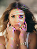 Rainbow make-up (David Olkarny Photography) Tags: davidolkarny olkarny david rainbow face girl portrait magic light women