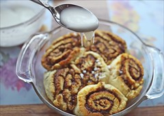 Homemade Cinnamon Buns For Breakfast (Sue90ca Thanks For All The Birthday Wishes) Tags: canon 6d cinnamon buns