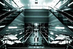 Hafencity (Mastahkid) Tags: mastahkid hamburg hansestadt hafencity deutschland germany ubahn underground subway trainstation treppen stairs licht light stahl steel ontourwithmyego