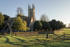 St Nicholas Church (NVOXVII) Tags: church chawton hampshire landscape architecture history religion christianity bluesky january nikon leadinglines pm afternoon lighting