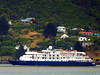 Caledonian Sky passing Burkes (geoffreyw@kinect.co.nz) Tags: caledonian sky cruise ship burkes otago harbour