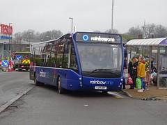 trent barton 846 Alfreton (Guy Arab UF) Tags: trent barton 846 yj14brf optare versa v1170 alfreton bus station derbyshire wellglade group buses wellgladegroup