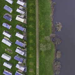 Aerial Of Caravan Park (James.Green2001) Tags: drone images dji phantom 3 standard water waterways 120m worcester worcestershire ketch roundabout caravan park