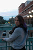 (Megskyy) Tags: canont3 tampa florida cannaqueen710 instagram model freelance mall ybor scarf colorful winter cold dyed hair purple blue smoking boots movie theater photoshoot dipstick cartridge thc