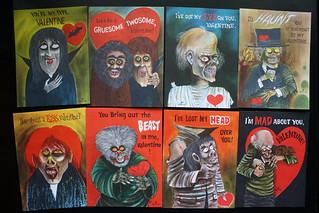 Monster Valentines ( Hallmark Probably 1960's )