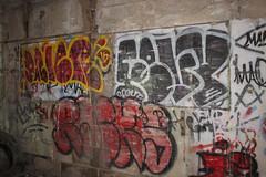 Dnie, Fevoe, Racks (NJphotograffer) Tags: graffiti graff new jersey nj abandoned building dnie dnier dr wth crew fevoe clout racks sfg