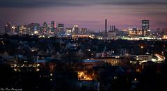 City of Boston's in golden hour light (kuntheaprum) Tags: waittmount sunset cityscape nikon d750 85mm f14 malden y