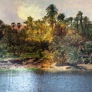 Le Nil est calme