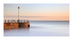 Sunrise at Banjo jetty, Swanage. (Paul Cronin 1) Tags: firstlight swanagebeach beach sunrise dorset pastelcolours banjojetty canon lee10stopper seascape canon5ds longexposure leepolariser 2470lmk2