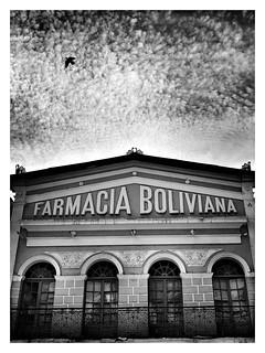 """Farmacia"" #cochabamba #bolivia #blackandwhitephoto #monochrome #travel #streetphotography"