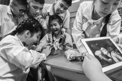 """The memories made""-(2018) (Angelo G.I.O.) Tags: bangkok bw blackwhite school students teacher classroom happiness clouds children thailand asia education sony 16mm photography photographer"