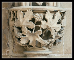 Carved Capital (veggiesosage) Tags: southwell southwellminster nottinghamshire aficionados gx20 grade1listed cathedral minster tamronspaf90mmf28