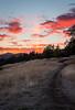 Column of Light (JG_photo) Tags: oregon sunset column light sunpillar red orange pink trail summer clouds