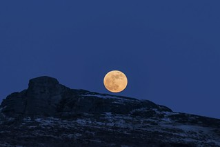 Super Blue Blood Moon - Haytor Rocks Dartmoor