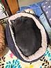 Rolled-up Yuba (sjrankin) Tags: 4february2018 edited animal cat yuba hdr sleep catbed floor bedroom yubari hokkaido japan