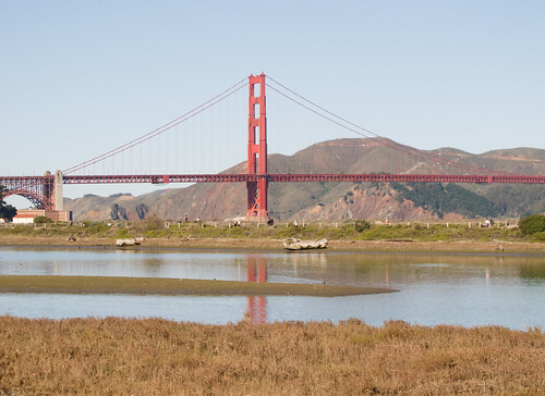 Golden Gate Bridge at Crissy Field