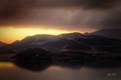 Storm View Over Cregennen (Geoff Moore UK) Tags: sunrise storm morning cloud moody water reflections light drama landscape outdoors