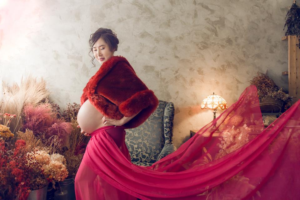 推薦 台南孕婦照 清新唯美風格 YY 018