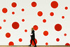 Polka Dots (Underground Joan Photography) Tags: infinitymirrors art polkadots circles red yayoikusama toronto street geometric