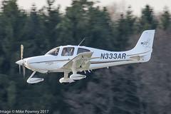 N333AR - 2004 build Cirrus SR22 G2, on approach to Runway 24 at Friedrichshafen during Aero 2017 (egcc) Tags: 0844 aero aerofriedrichshafen aerofriedrichshafen2017 bodensee cirrus cirrusdesign edny fdh friedrichshafen g2 lebonair lightroom n333ar sr22