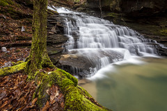 Eagle Falls (Tony Barber --The Jolly Swagman) Tags: sipsey wilderness waterfall water bankhead backpacking bankheadforest williambbankheadnationalforest forest alabama canon 5d mark ii 5dmarkii canon1740mmf4l