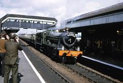 img945 (foundin_a_attic) Tags: 6998 burtonagnes hall gwr greatwestern steam train loco locomtive stratford avon shakespeare railtour station railway