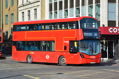 LF67 EVW (HV358) Arriva London (hotspur_star) Tags: londontransport londonbuses londonbus londonbuses2018 wrightbus volvob5lh tfl transportforlondon hybridbus hybridtechnology busscene2018 doubledeck arrivalondon lf67evw hv358 341