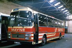 Mayne, Clayton 59 (MRJ 359W) (SelmerOrSelnec) Tags: mayne clayton leyland leopard plaxton mrj359w manchester bus coach