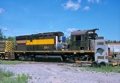 Rebuilding an Alco C425M (rolfstumpf) Tags: usa michigan alpena lakestaterailroad lsrc alco c425 c425m shops roster railway railroad rebuilding shortline