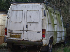 1997 Ford Transit 190 LWB (Neil's classics) Tags: vehicle van abandoned 1997 ford transit