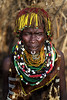 Nyangatom woman - Ethiopia. (Steven Goethals) Tags: ethiopia ethiopie ethiopië etiopia tribe tribal portrait girl ethnic nice beautiful ethnology ethnique culture tradition tribo face tribes visage travel human explore east africa people peoples adventure black skin afrique de lest valley goethals steven lokatepan nyangatom necklace westomo colorful kangate fuji fujifilm xseries xt2 xf56