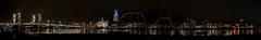 Kampen panorama (Henk Melenhorst) Tags: kampen avondfotografie nikon d750 ncn nikonclubnederland nikond750 night nightphotography stadsbrug