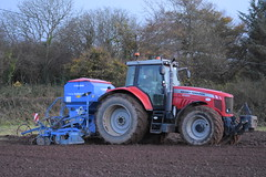 Massey Ferguson 6495 Tractor with a Lemken Solitair 8 Seed Drill & Power Harrow (Shane Casey CK25) Tags: massey ferguson 6495 tractor lemken solitair 8 seed drill power harrow one pass onepass carrigtohill sow sowing set setting drilling tillage till tilling plant planting crop crops cereal cereals county cork ireland irish farm farmer farming agri agriculture contractor field ground soil dirt earth dust work working horse horsepower hp pull pulling machine machinery grow growing nikon d7200 mf red traktori traktor trekker tracteur trator ciągnik