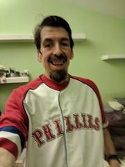 Odd Phillies Jersey (earthdog) Tags: 2018 jersey shirt earthdog googlepixel pixel androidapp moblog cameraphone armslength self selfie