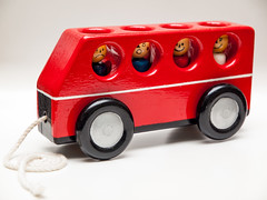 365.31 - The wheels on the bus (AmyGStubbs) Tags: 2018 31jan18 365the2018edition 3652018 bus day31365 e30 fl36 flash olympus olympus1260f284edswd stilllife toy