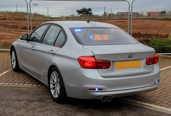 Humberside Police Brand New Unmarked BMW 330d Roads Policing Unit Traffic Car (PFB-999) Tags: humberside police brand new unmarked plain bmw 330d 3series saloon roads policing unit rpu traffic car vehicle grilles fendoffs dashlight leds