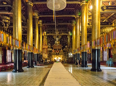 Wat Si Mung Muang grand hall (Never.Stop.Searching.) Tags: doisaket chiangmai thailand temple buddhism buddhist religious architecture building